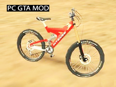 Free Download Intense Down Hill Bike Mod for GTA San Andreas.