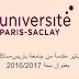 منح ماجستير مقدمة من جامعة باريس-ساكلي -فرنسا بعنوان سنة 2016/2017