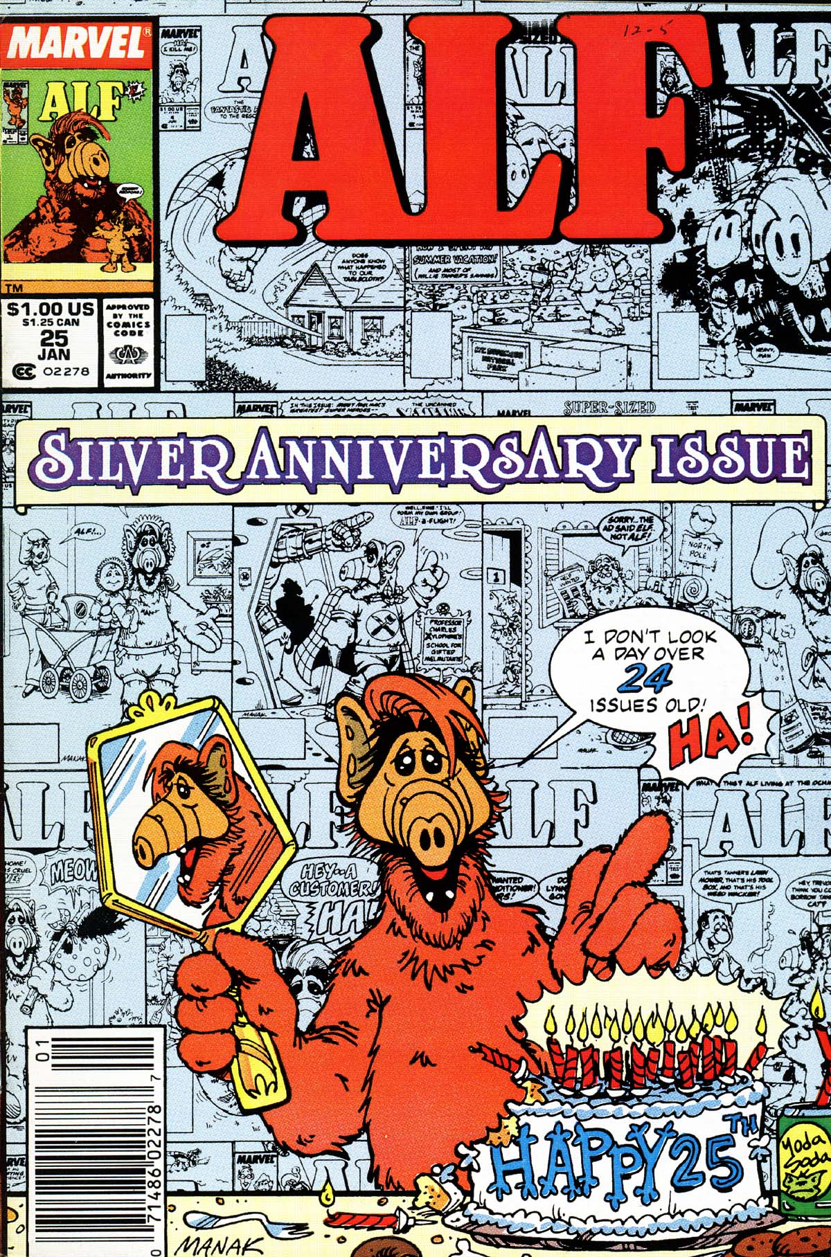 Read online ALF comic -  Issue #25 - 1