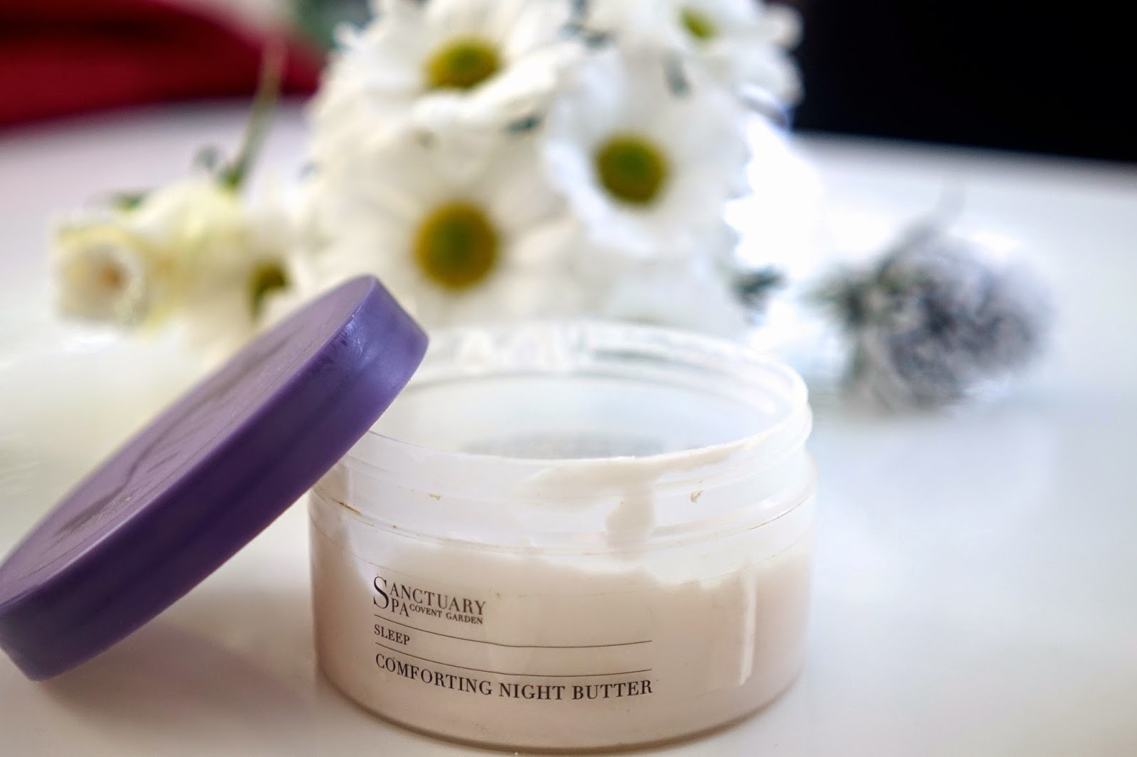 sanctuary spa sleep comforting night butter