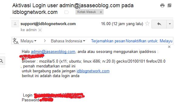 Cara Baru Daftar di Idblognetwork IBN Tanpa Email Rekomendasi
