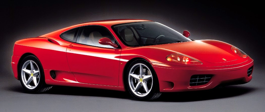 Comedian Arnell Ignacio owns a Ferrari 360 Moderna