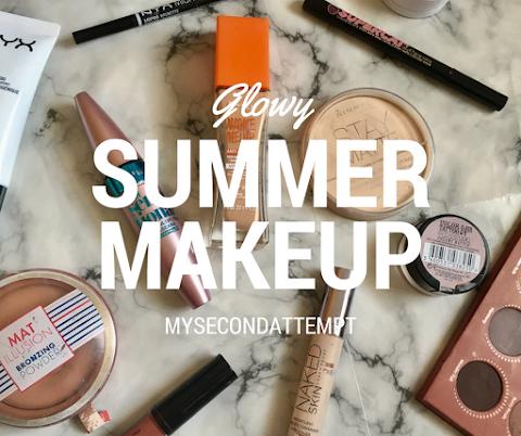 Glowy Summer Makeup Look