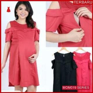 MOM019D14 Dress Hamil Menyusui Pesta Brokat Dresshamil Ibu Hamil