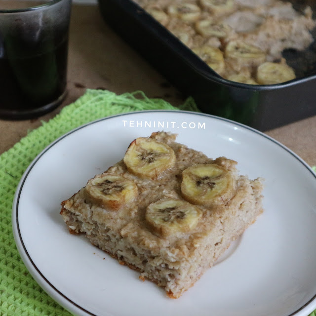 Cake oatmeal pisang sehat