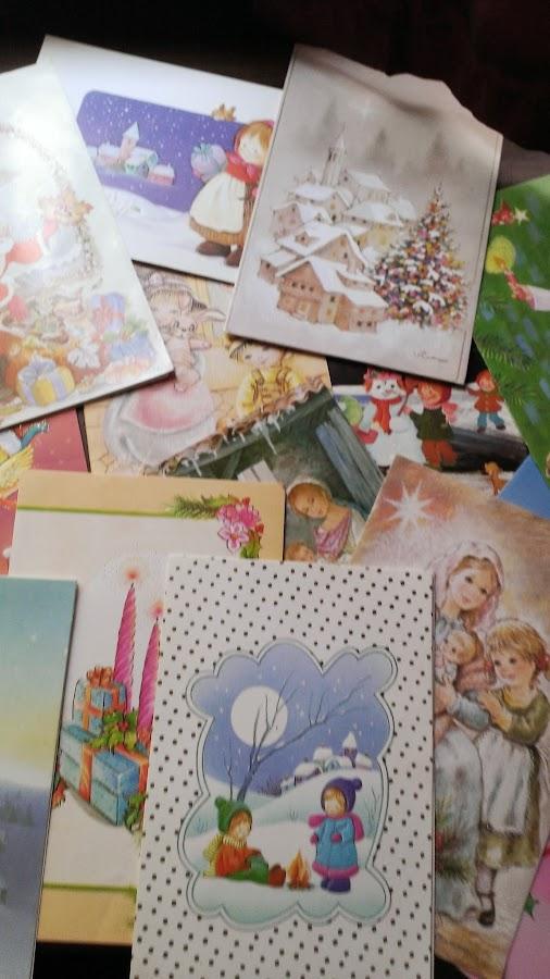 postal navidad que me hace feliz