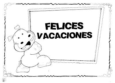 Los Dibujos Para Colorear En Vacaciones