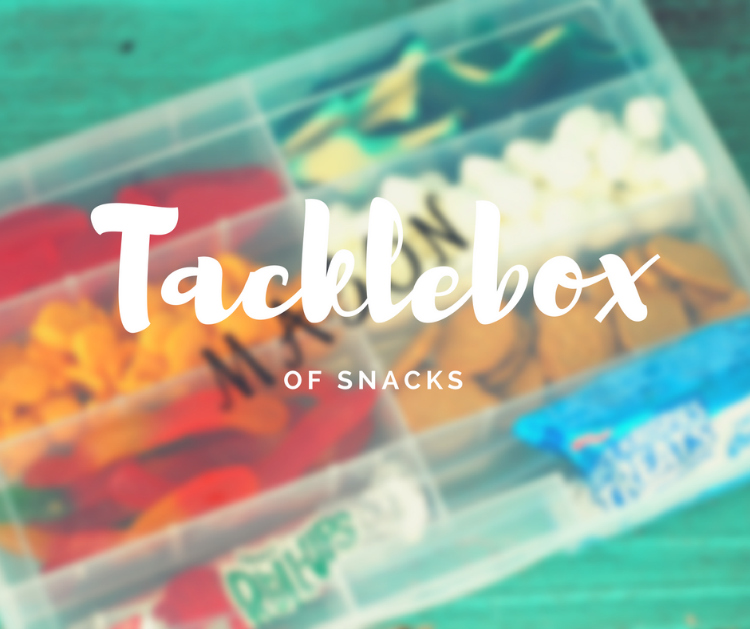 Hall Around Texas - Tacklebox of Snacks
