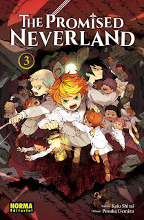 "Manga: Reseña de ""The Promised Neverland #3"" de Kaiu Shirai y Posuka Demizu - Norma editorial"