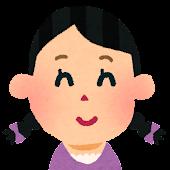 女の子の顔アイコン 10