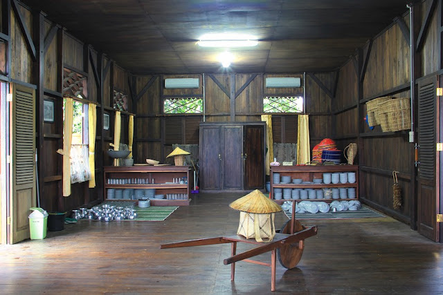 Ruang Dapur Rumah Panggung Bangka Belitung