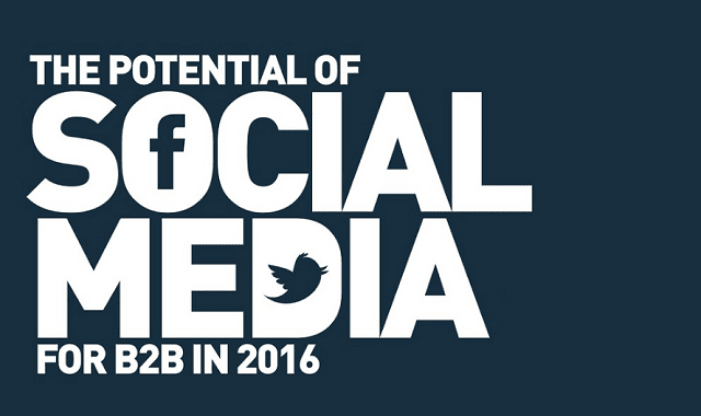 The Potential of Social Media for B2B in 2016