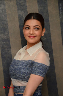 Actress Kajal Agarwal Latest Stills at Khaidi No 150 Movie Interview  0029.JPG