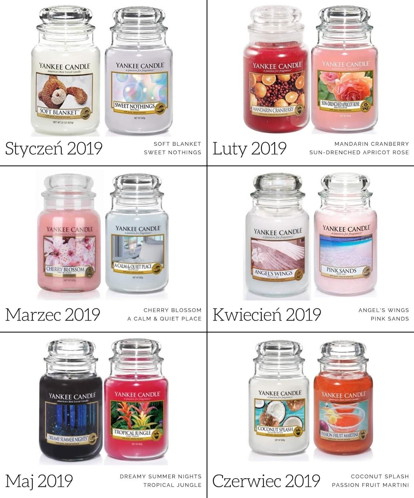 zapach miesiąca yankee candle 2019