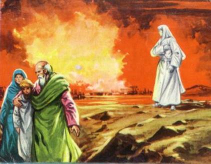 Compartiendo Biblia La Mujer De Lot
