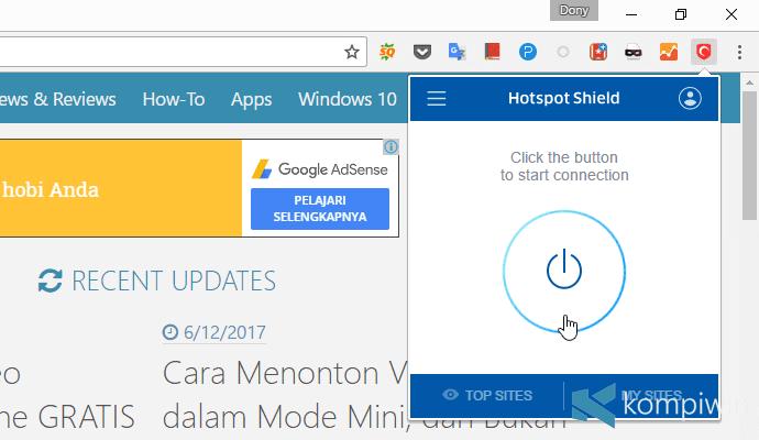 hotspot shield vpn untuk situs yang diblokir