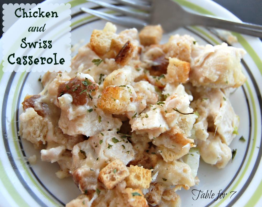 Chicken and Swiss Casserole