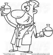 Imagenes Para Colorear Quimica Dibujo De Clase De Química Para