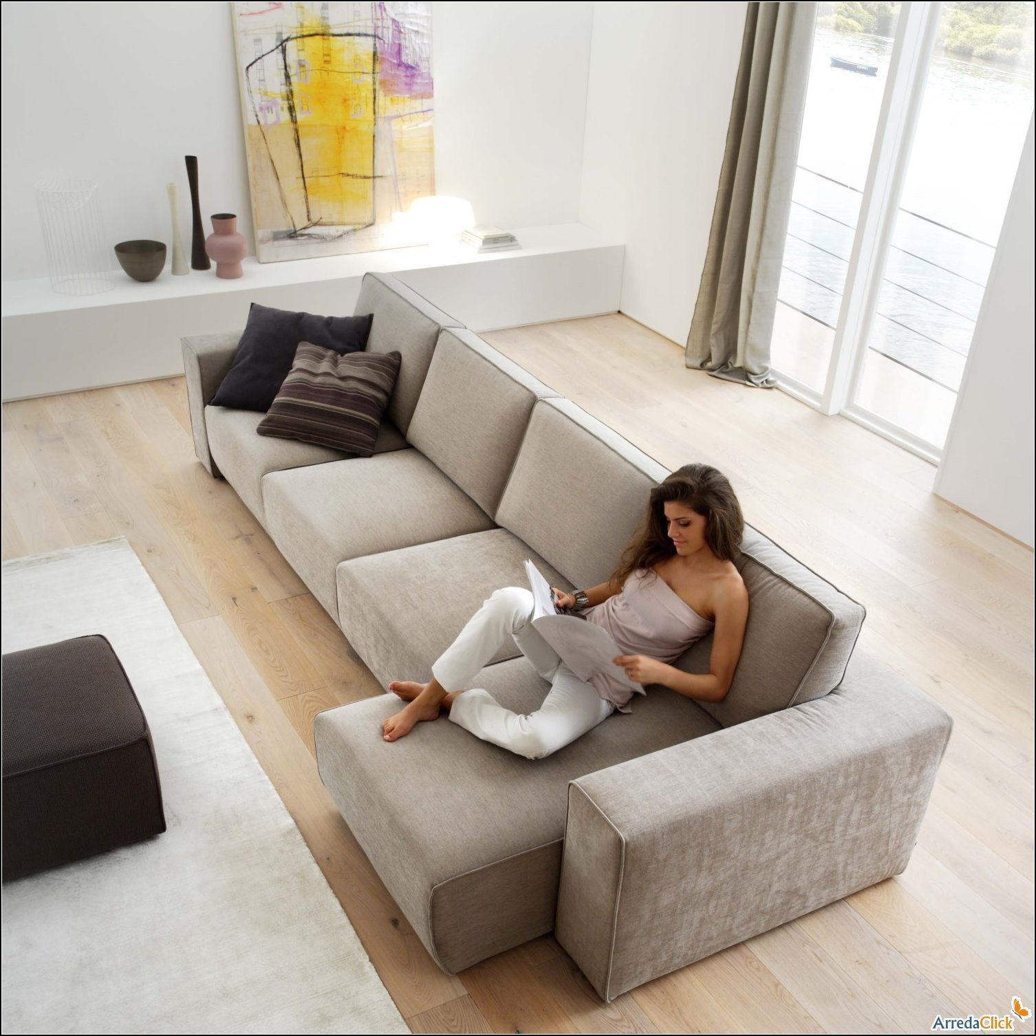 Arredaclick muebles italianos online sof s modernos for Divani 3 metri