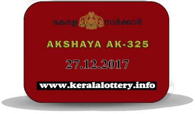 Keralalottery, Today Lottery Result; 27-12-2017 Akshaya Lottery Results (AK-325), 20-12-2017 Akshaya Lottery Results (AK-324), Previous Lottery Results; 13-12-2017 Akshaya Lottery Results (AK-323), 06-12-2017 Akshaya Lottery Results (AK-322), 29-11-2017 Akshaya Lottery Results (AK-321), 22-11-2017 Akshaya Lottery Results (AK-320), 15-11-2017 Akshaya Lottery Results (AK-319), kerala lottery, kl result,  yesterday lottery results, lotteries results, keralalotteries, kerala lottery, keralalotteryresult, kerala lottery result, kerala lottery result live, kerala lottery today, kerala lottery result today, kerala lottery results today, today kerala lottery result, kerala lottery result 27-12-2017, akshaya lottery results, kerala lottery result today akshaya, akshaya lottery result, kerala lottery result akshaya today, kerala lottery akshaya today result, akshaya kerala lottery result, akshaya lottery AK.325 results 27-12-2017, akshaya lottery ak-325, live akshaya lottery ak-325, akshaya lottery, kerala lottery today result akshaya, akshaya lottery (AK-325) 27/12/2017, today akshaya lottery result, akshaya lottery today result, akshaya lottery results today, today kerala lottery result akshaya