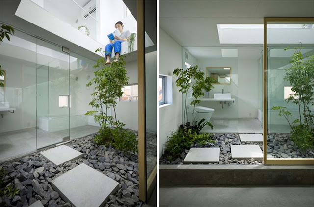 Suppose design casa giardino in moriyama arc art blog for Casa interni