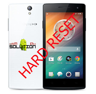 hard reset oppo find 5 mini R827