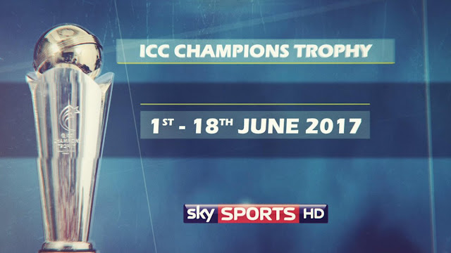 Sky Sports live streaming UK icc champions trophy 2017