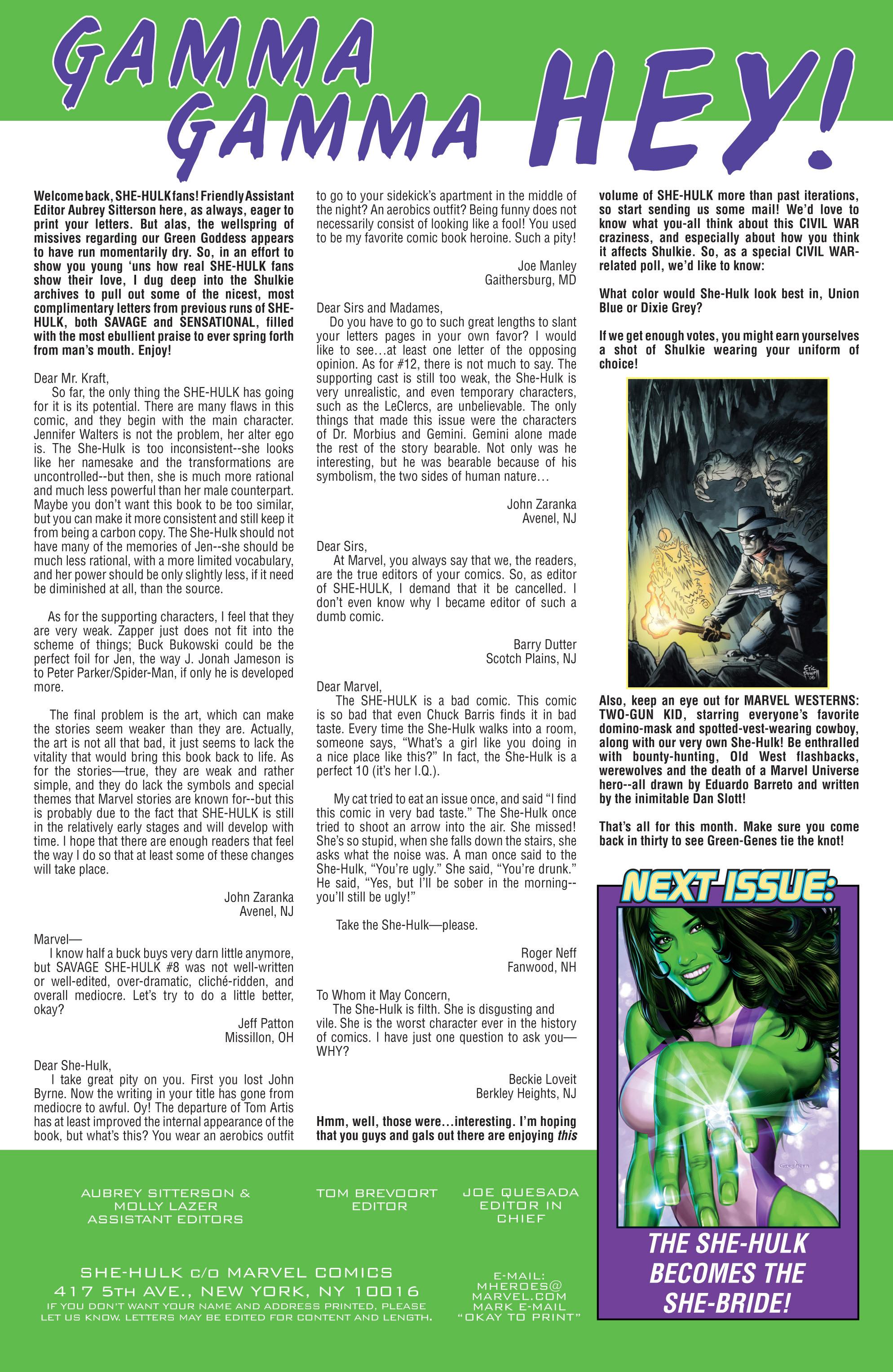 Read online She-Hulk (2005) comic -  Issue #8 - 25