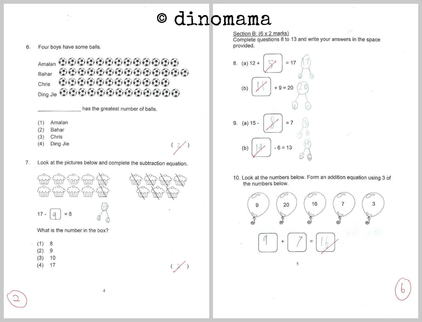 Starting Primary One 18