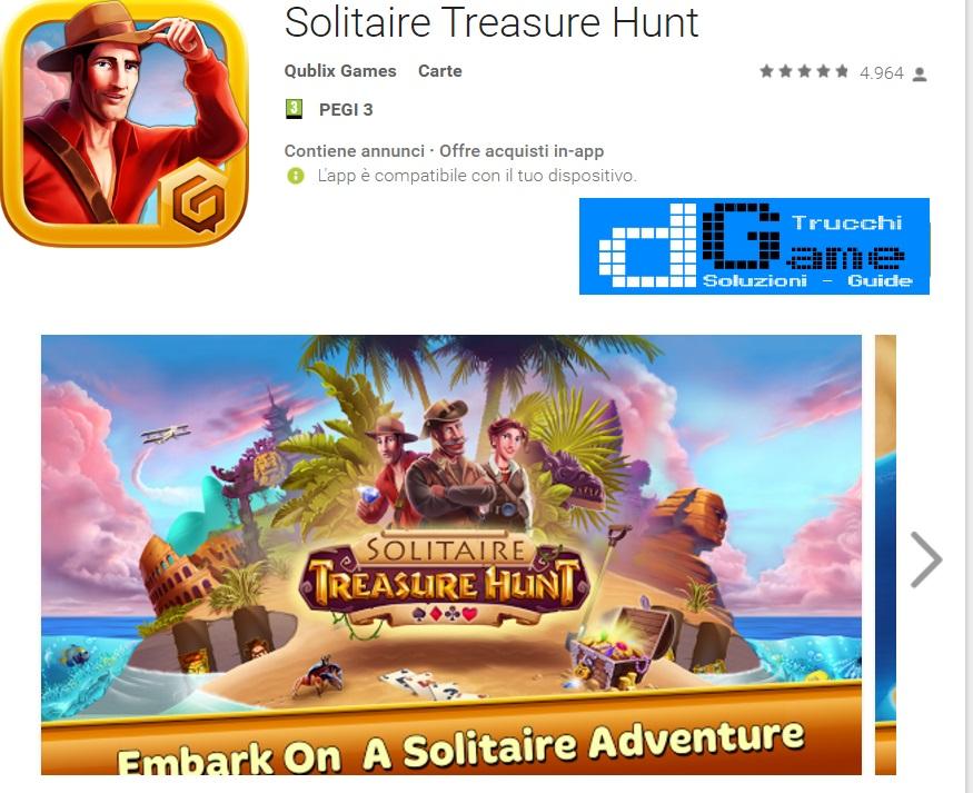 Trucchi Solitaire Treasure Hunt Mod Apk Android v1.0.029