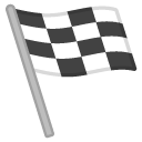 Finish Flag emoji