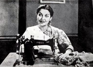 Manorama in 1949 film Anchal