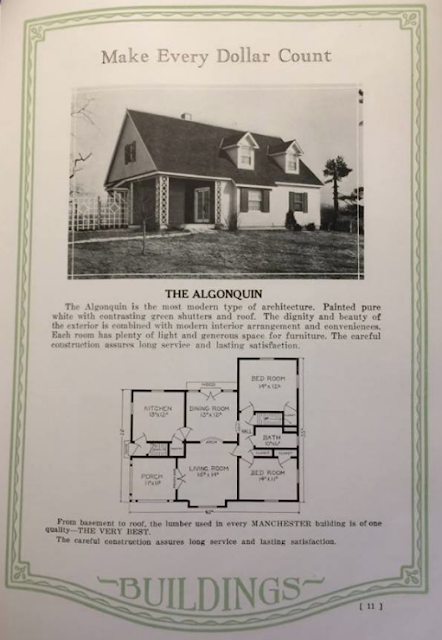 Manchester Buildings 1926 catalog: The Algonquin model