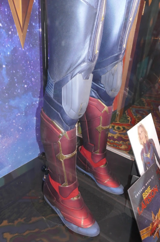 Captain Marvel movie costume legs boots