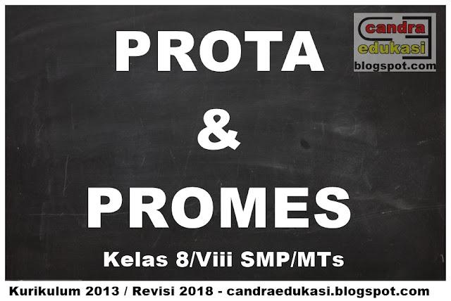 di blog edukasi yang sangat super sederhana ini Prota dan Promes SMP Revisi 2018 Kelas 8 Kurikulum 2013