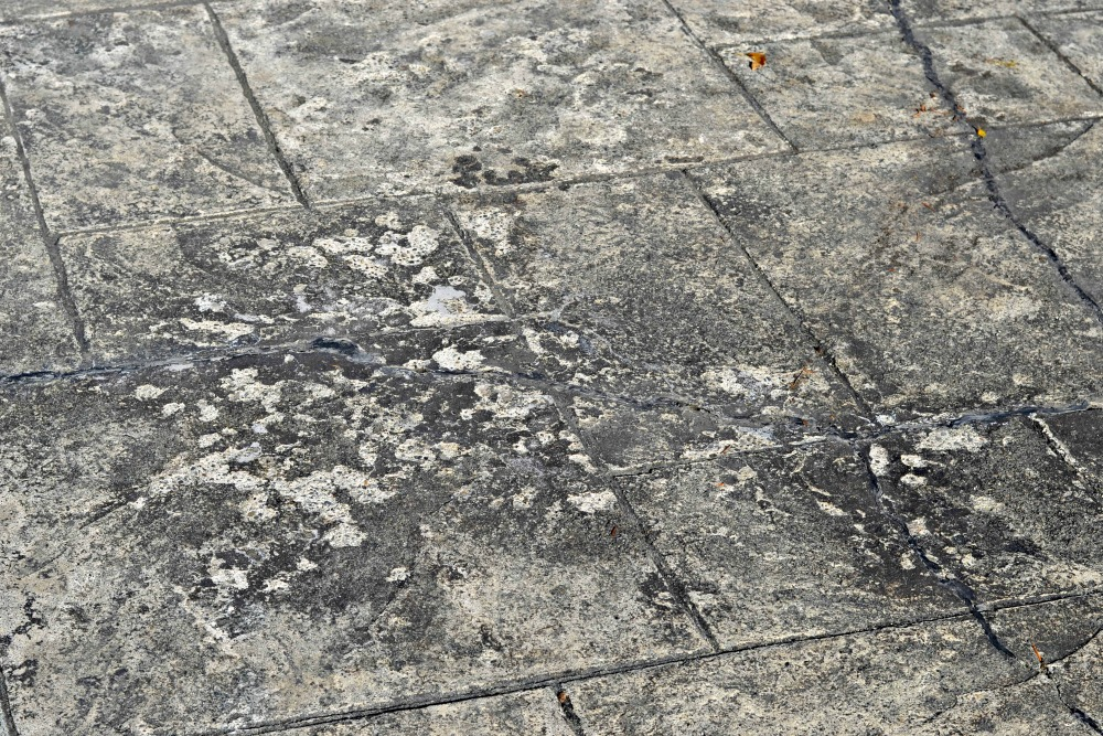 How To Stain Stamped Concrete You Can Do It Yourself