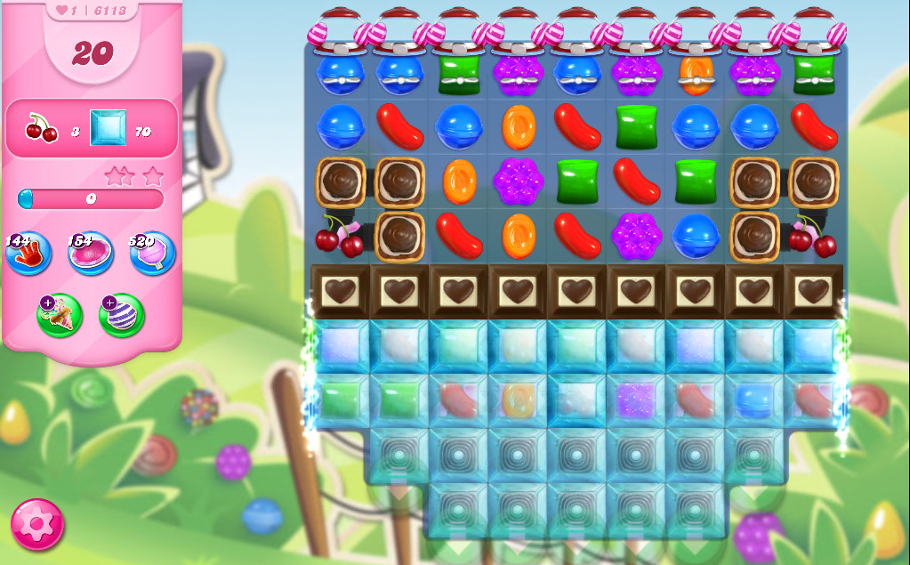 Candy Crush Saga level 6113