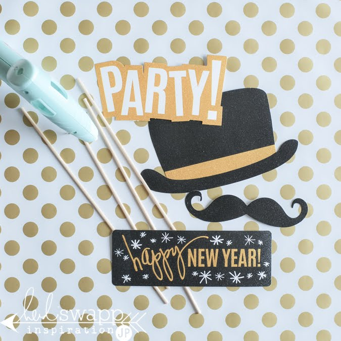 Heidi Swapp New Years Photo Props | @jamiepate for @heidiswapp