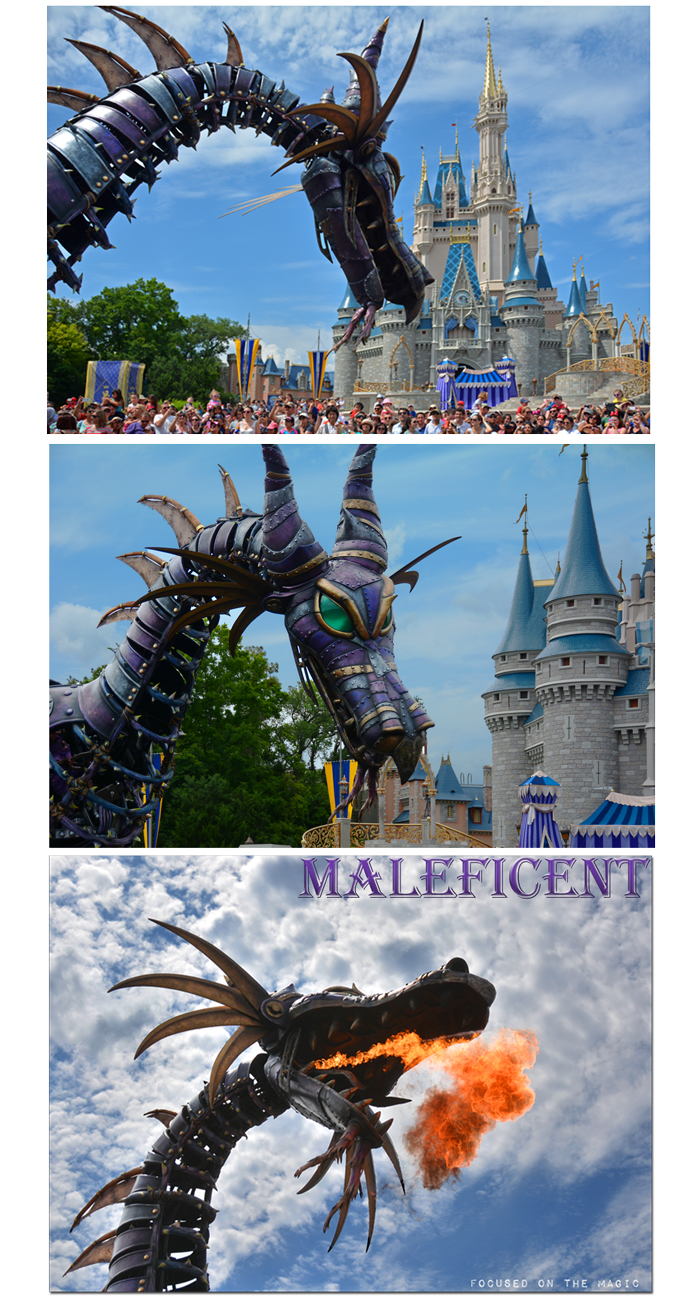 Maleficent Disney Festival of Fantasy Parade at Magic Kingdom Park