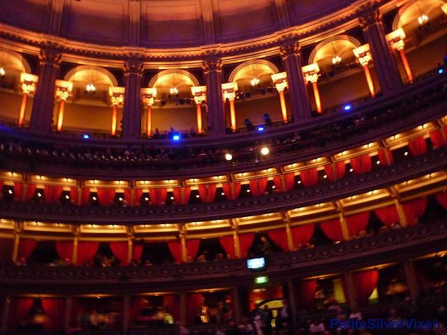 Royal Albert Hall Interior | PetiteSilverVixen