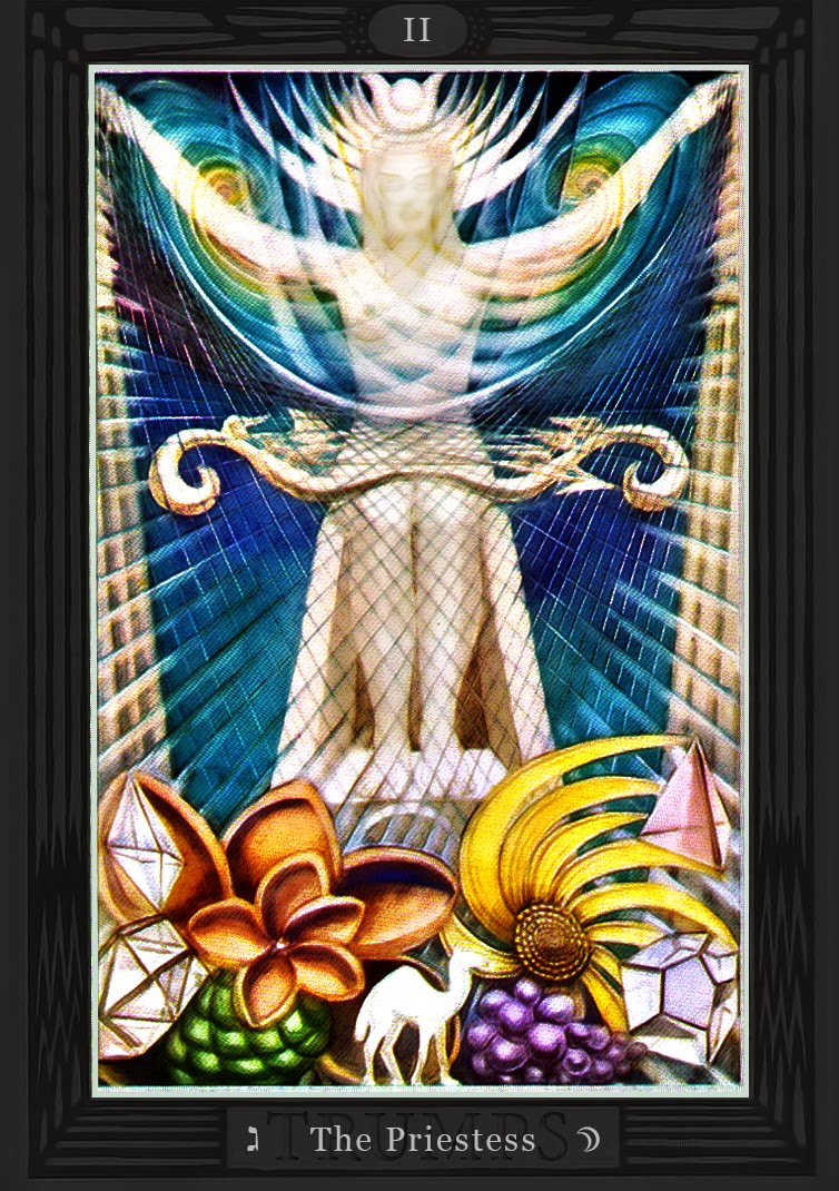 Thoth Fortune Tarot Card Tutorial