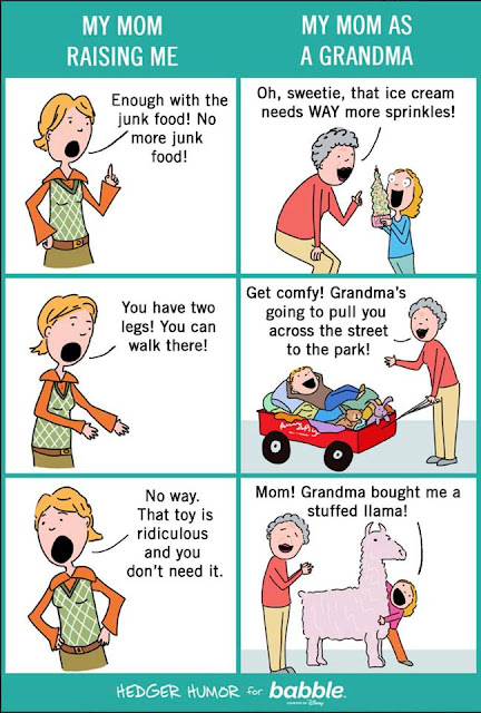 Hedger Humor - my favourite grandmother cartoon of all time!