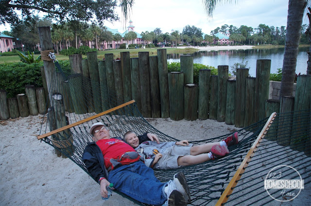 hang out on a hammock at Disney world resort for free