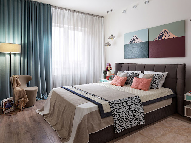 No blog Achados de Decoração: apto decorado de 80 m² com planta complicada