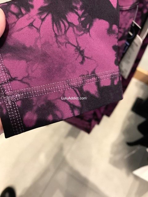 lululemon shibori-print plum