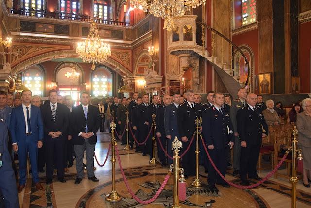Εορτασμός της «Ημέρας της Αστυνομίας» και του Προστάτη του Σώματος Αγίου Αρτεμίου στην Πελοπόννησο