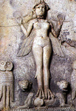 Ishtar Queen of Heaven and Earth (Burney Relief)