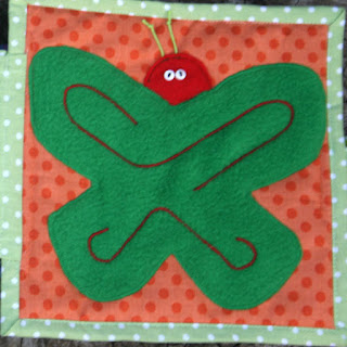 The very hungry caterpillar quiet book by TomToy