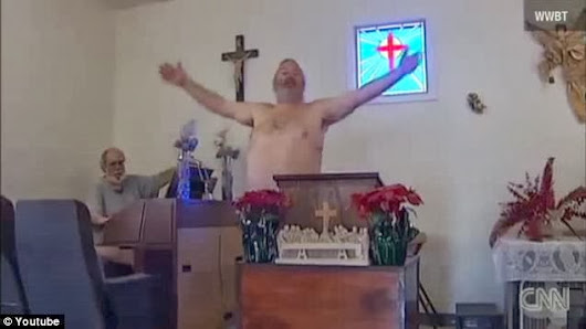 Church In The US Where People Worship Unclad