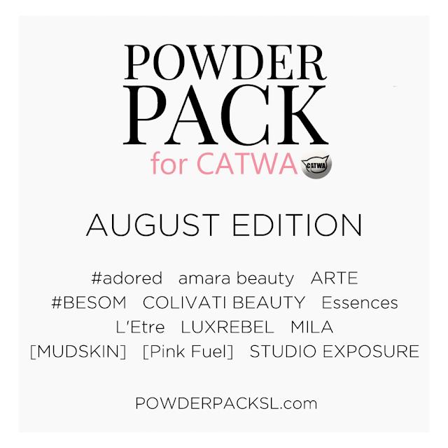 Powder Pack Catwa Aug・・・